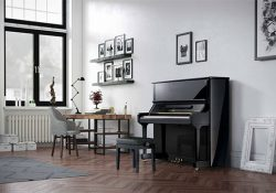 review đàn piano boston 132E