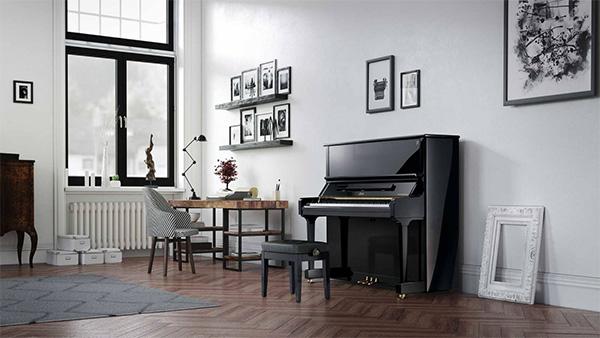 review đàn piano boston 132E