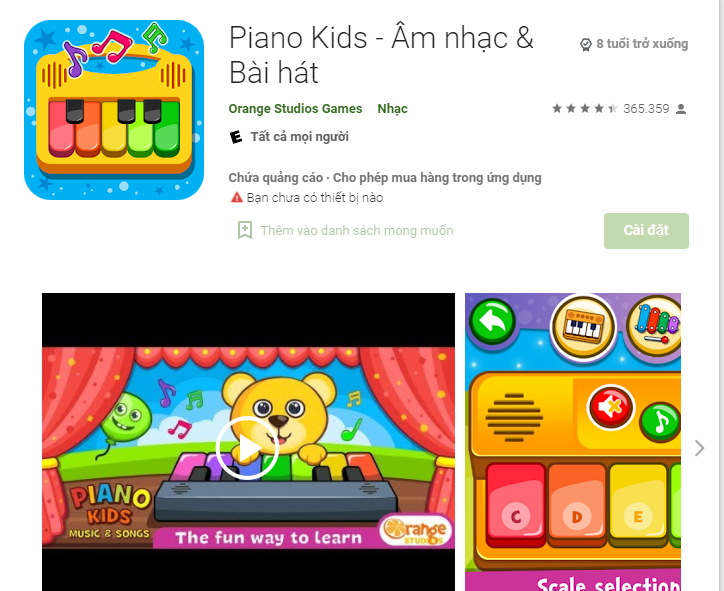 app học đàn piano