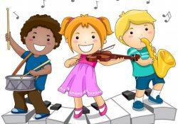 bé học cảm thụ âm nhạc